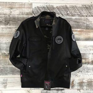 Mishka Bomber Jacket size M Black